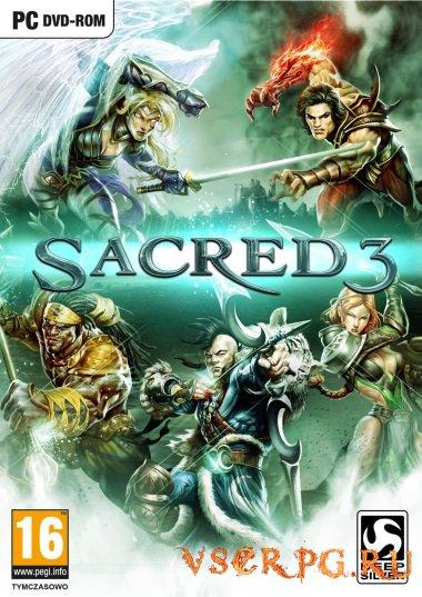 Постер игры Sacred 3
