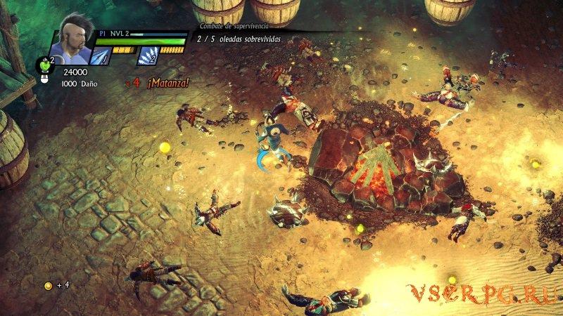 Sacred 3 [Xbox 360] screen 3