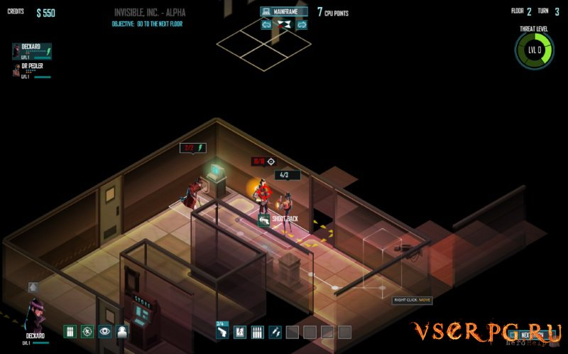 Invisible Inc screen 2