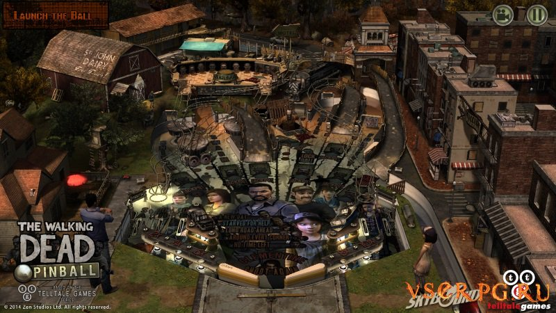 The Walking Dead Pinball [Android] screen 2