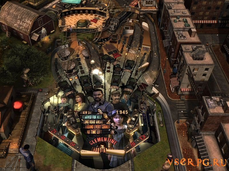 The Walking Dead Pinball [Android] screen 1