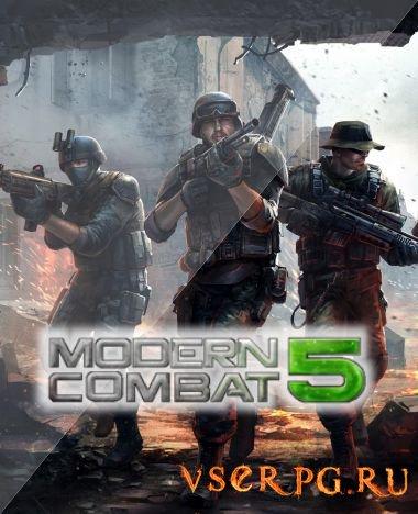 Постер игры Modern Combat 5 [Android]