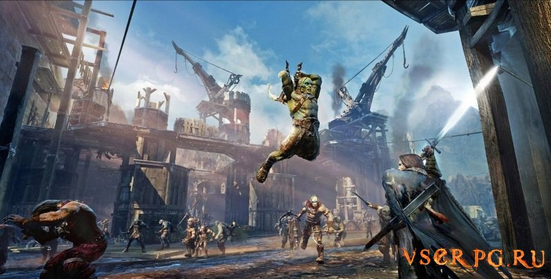 Middle Earth Shadow of Mordor screen 1
