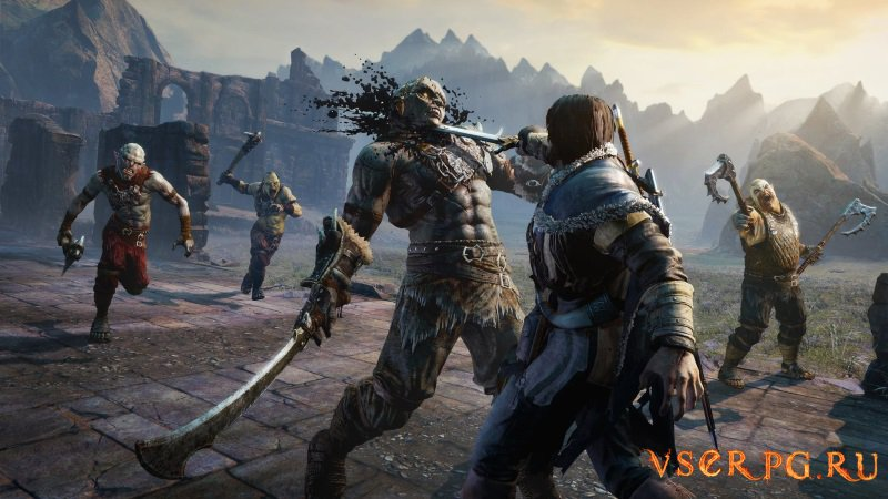 Middle Earth Shadow of Mordor screen 2