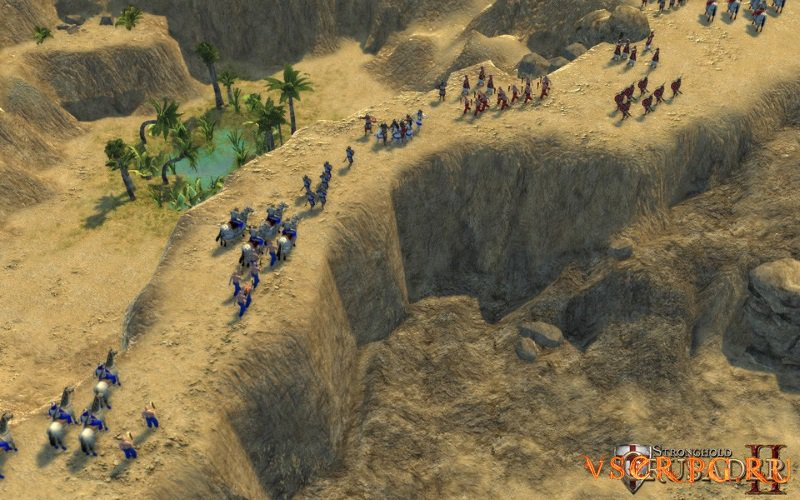 Stronghold Crusader 2 screen 1
