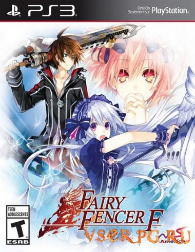 Постер игры Fairy Fencer F [PS3]