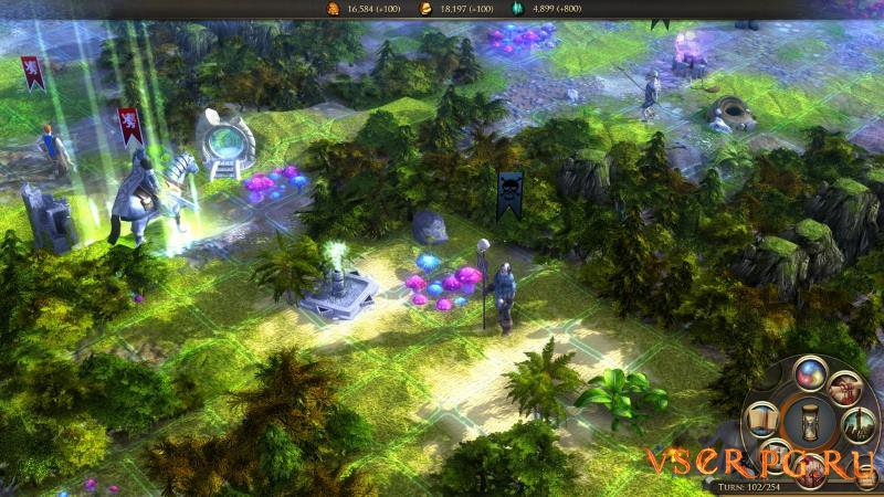 Worlds of Magic screen 1