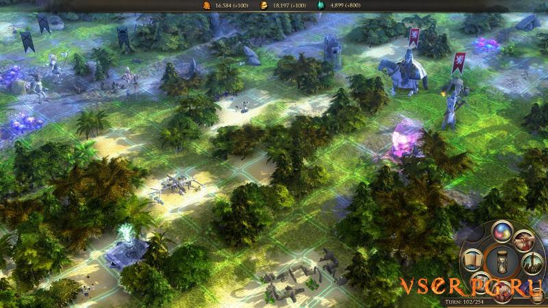 Worlds of Magic screen 2