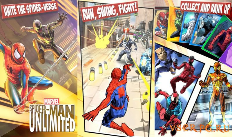 Spider-Man Unlimited [Android] screen 1