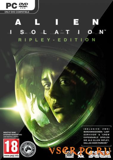 Постер игры Alien Isolation