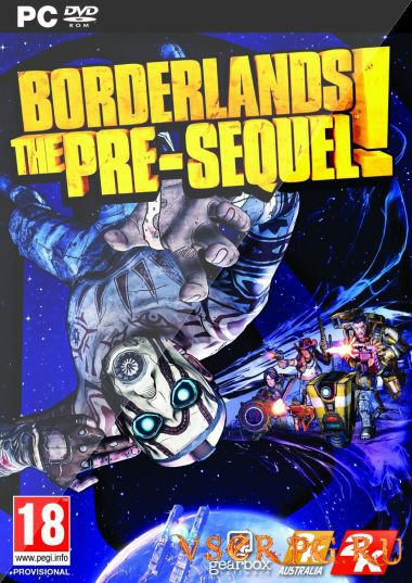 Постер игры Borderlands The Pre-Sequel