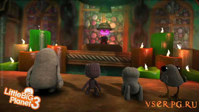 LittleBigPlanet 3 [PS4] screen 2