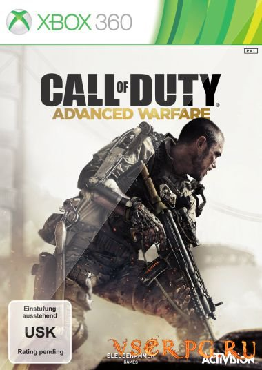 Постер игры Call of Duty Advanced Warfare [Xbox 360]