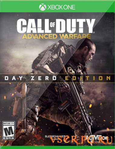 Постер игры Call of Duty Advanced Warfare [Xbox One]