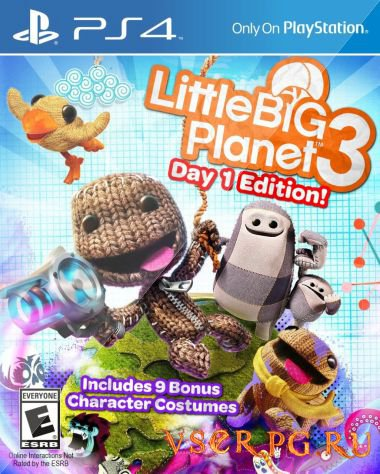 Постер игры LittleBigPlanet 3 [PS4]