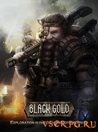 Постер игры Black Gold / Черное Золото