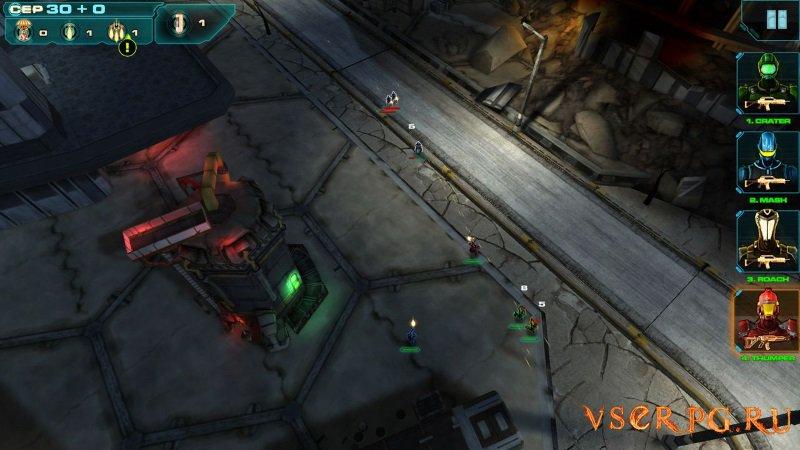 Line of Defense screen 1