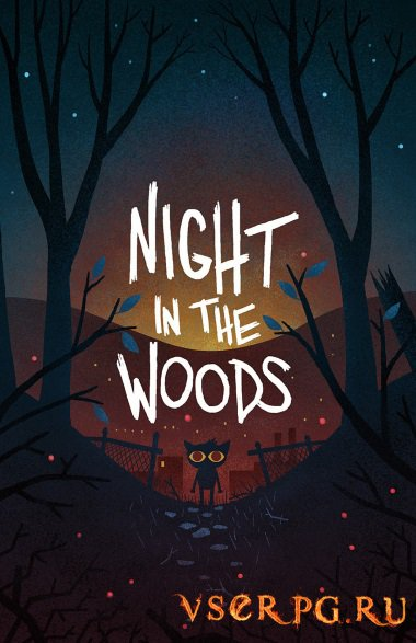 Постер игры Night in the Woods