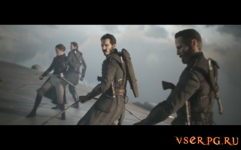The Order 1886 [PS4] screen 1
