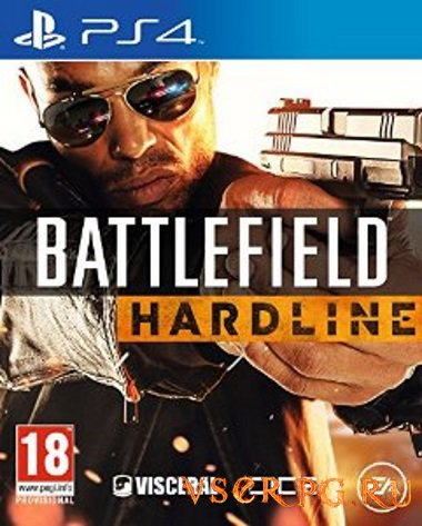 Постер игры Battlefield Hardline [PS4]