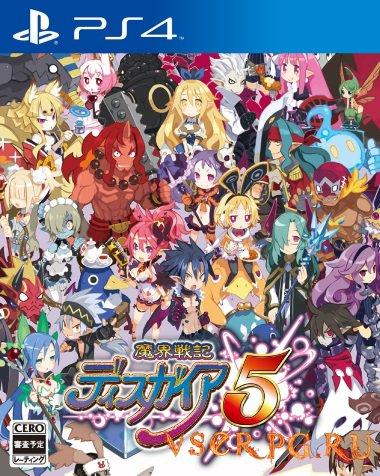 Постер игры Disgaea 5 [PS4]