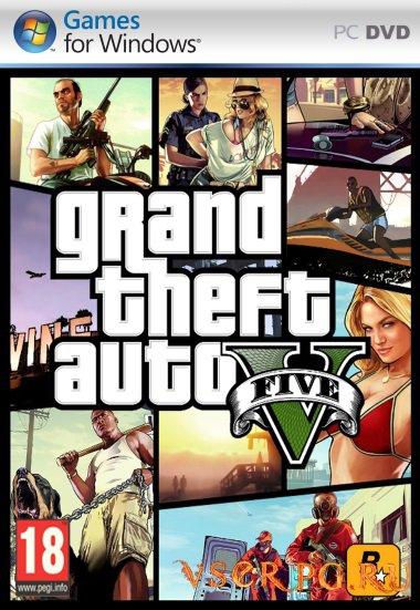 Постер игры GTA 5 на PC