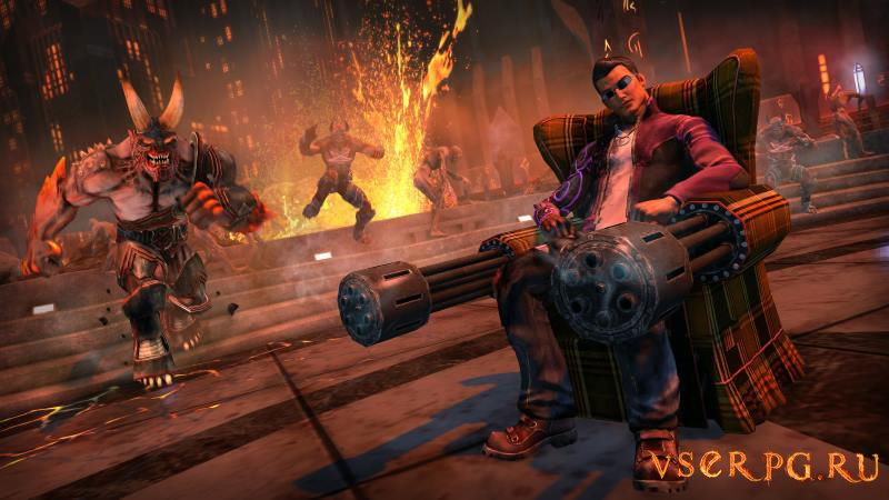 Saints Row Gat Out of Hell screen 2