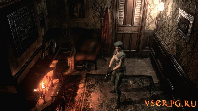 Resident Evil HD Remaster screen 1