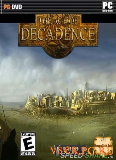 Постер игры Age of Decadence
