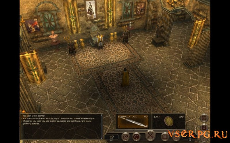 Age of Decadence screen 1