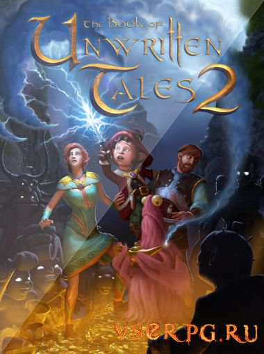 Постер игры The Book of Unwritten Tales 2