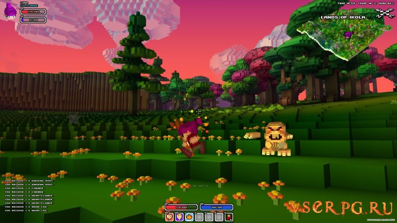 Cube World screen 1
