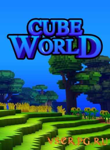 Постер игры Cube World