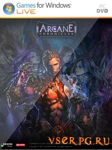 Постер игры Arcane Chronicles