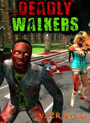 Постер игры Deadly Walkers