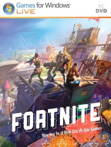Постер игры Fortnite