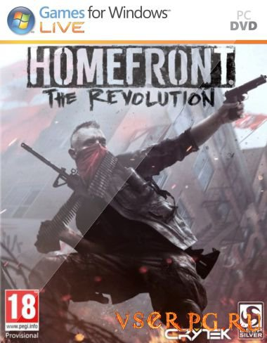 Постер игры Homefront 2 The Revolution
