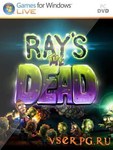 Постер игры Ray's the Dead