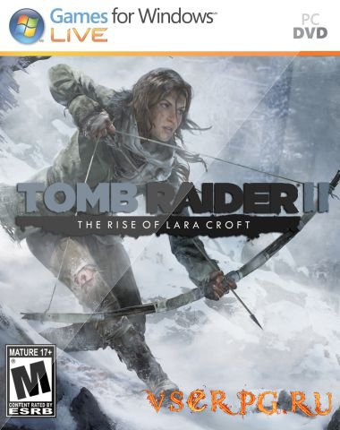 Постер игры Rise of the Tomb Raider