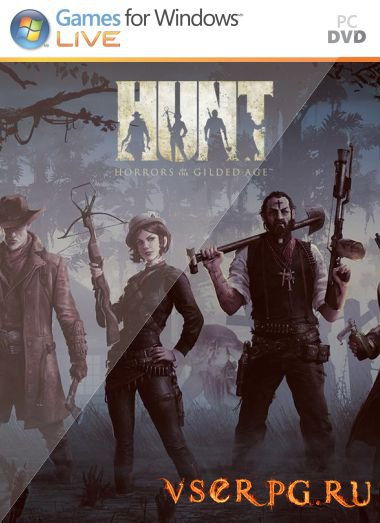 Постер игры HUNT Horrors of the Gilded Age