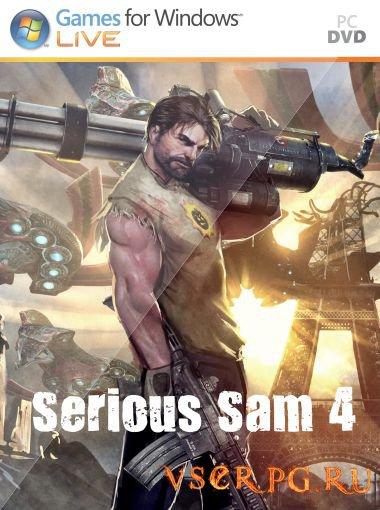 Постер игры Serious Sam 4