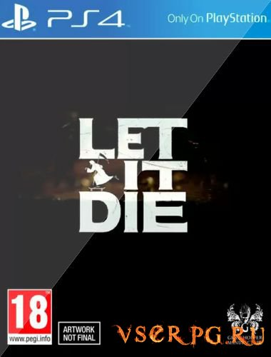 Постер игры Let It Die