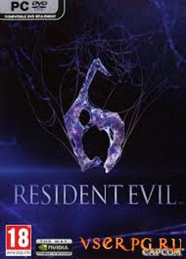 Постер игры Resident Evil 6