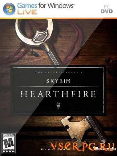 Постер игры Skyrim Hearthfire