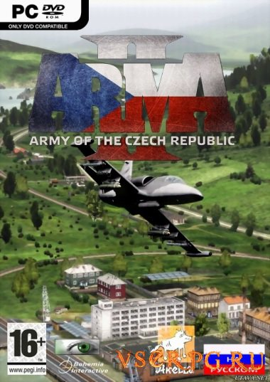 Постер игры ArmA 2 Army of the Czech Republic
