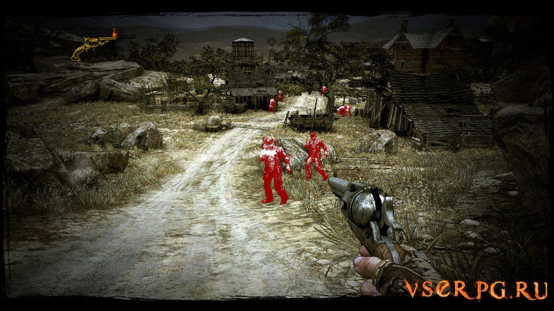 Call of Juarez Gunslinger screen 2