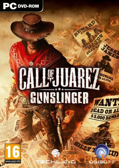 Постер игры Call of Juarez Gunslinger