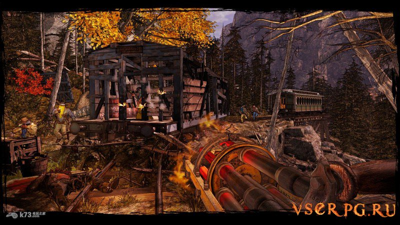 Call of Juarez Gunslinger screen 1