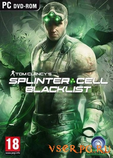 Постер игры Tom Clancy's Splinter Cell Blacklist