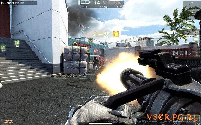 Metro Conflict screen 2